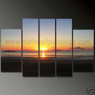 Dafen Oil Painting on canvas seascape painting -set623