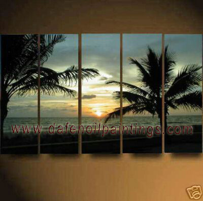 Dafen Oil Painting on canvas seascape painting -set624