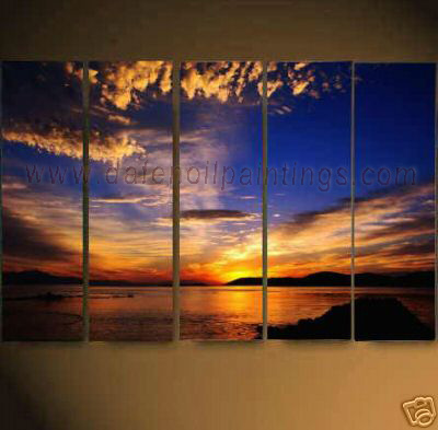 Dafen Oil Painting on canvas seascape painting -set626