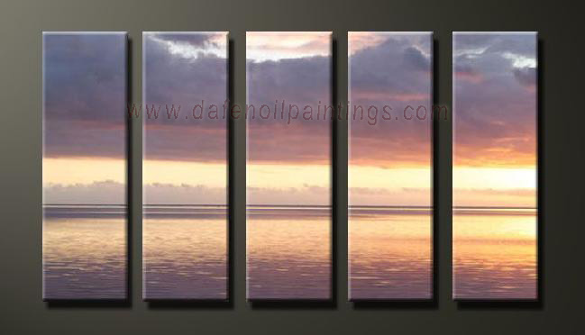 Dafen Oil Painting on canvas seascape painting -set628