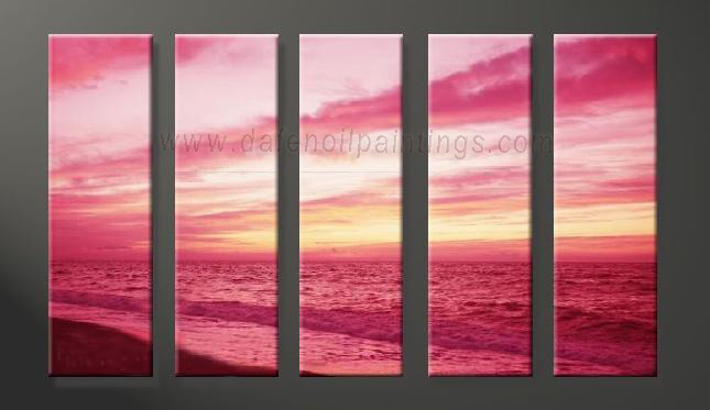 Dafen Oil Painting on canvas seascape painting -set629