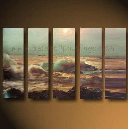 Dafen Oil Painting on canvas seascape painting -set630