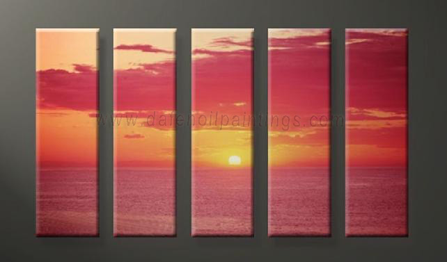 Dafen Oil Painting on canvas seascape painting -set632