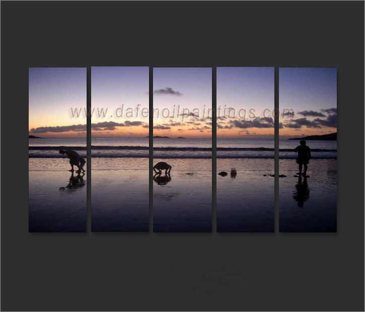 Dafen Oil Painting on canvas seascape painting -set635