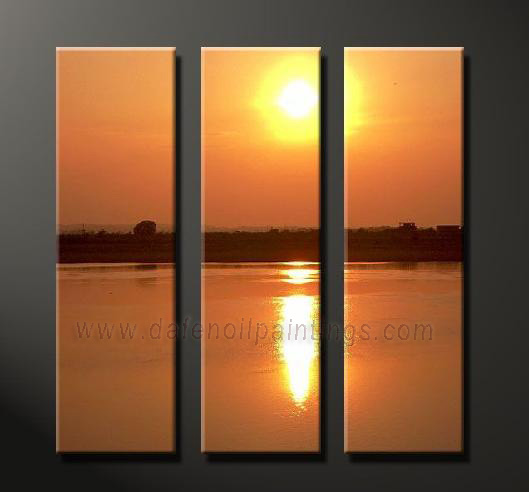 Dafen Oil Painting on canvas seascape painting -set638