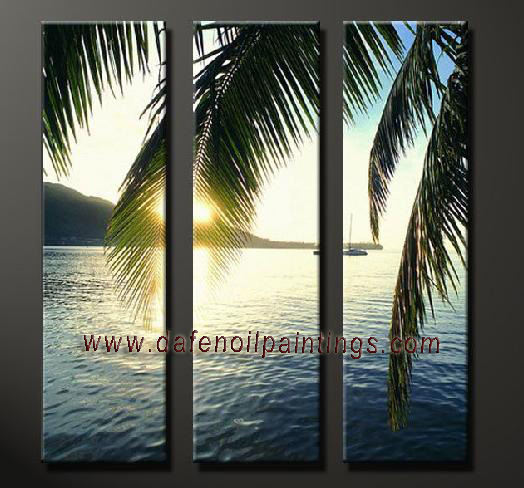 Dafen Oil Painting on canvas seascape painting -set640