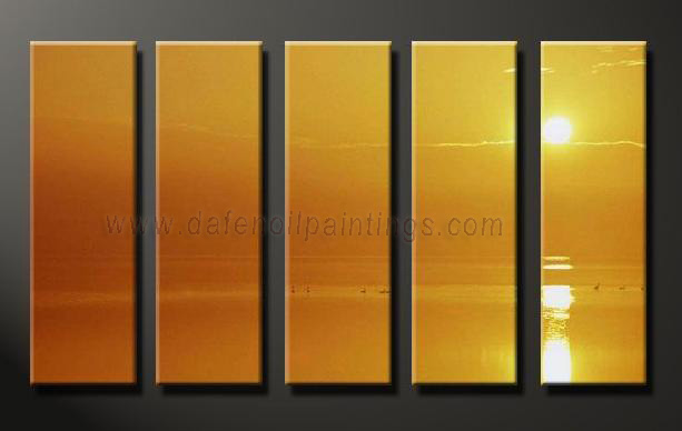 Dafen Oil Painting on canvas seascape painting -set641