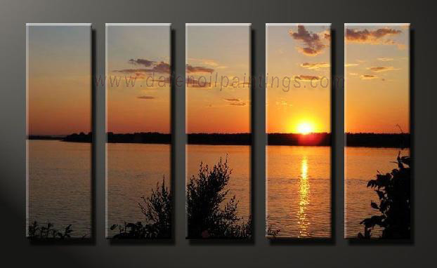 Dafen Oil Painting on canvas seascape painting -set642