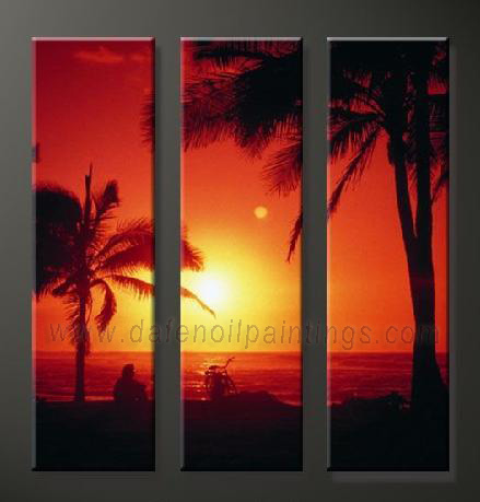 Dafen Oil Painting on canvas seascape painting -set643