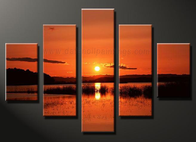 Dafen Oil Painting on canvas seascape painting -set646
