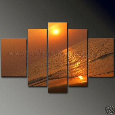 Dafen Oil Painting on canvas seascape painting -set650