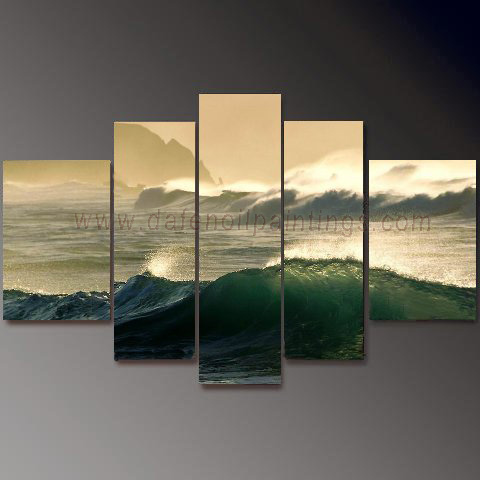 Dafen Oil Painting on canvas seascape painting -set653