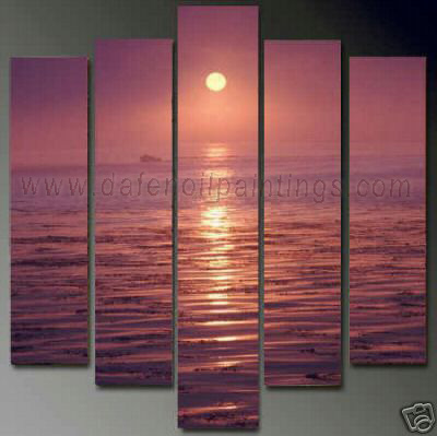 Dafen Oil Painting on canvas seascape painting -set654