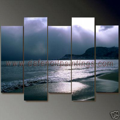 Dafen Oil Painting on canvas seascape painting -set659