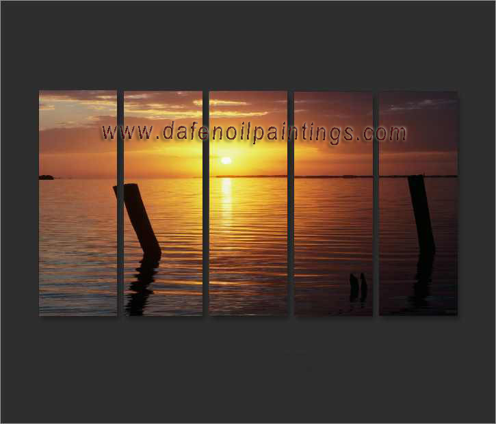 Dafen Oil Painting on canvas seascape painting -set663