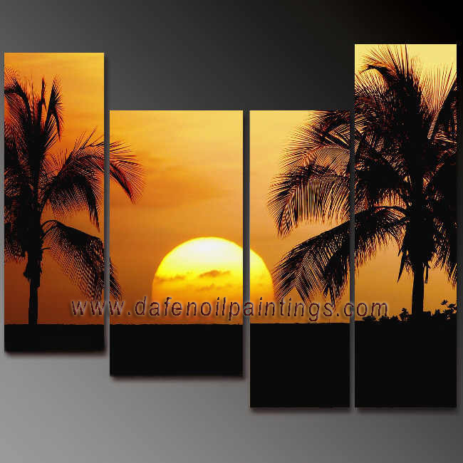 Dafen Oil Painting on canvas seascape painting -set666