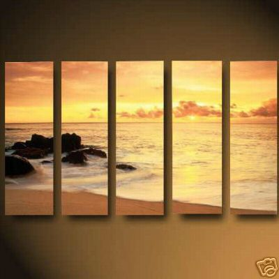 Dafen Oil Painting on canvas seascape painting -set674