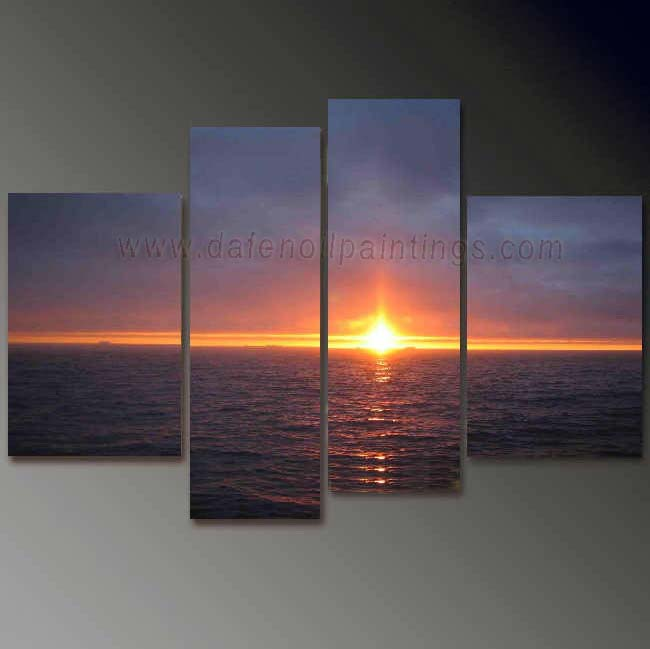 Dafen Oil Painting on canvas seascape painting -set676