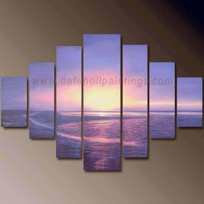 seascape paintings on canvas dafen oil painting on canvas seascape painting set679 set679