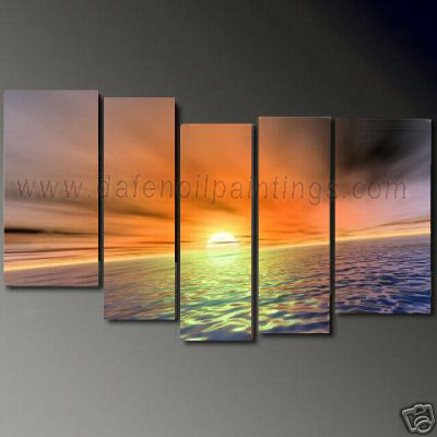 Dafen Oil Painting on canvas seascape painting -set685