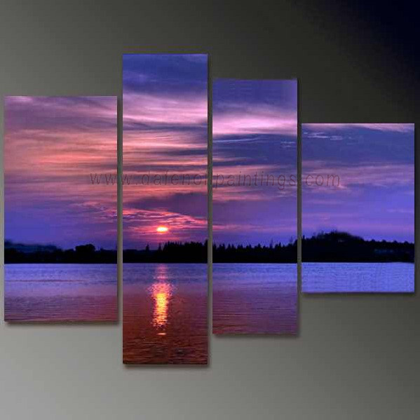 Dafen Oil Painting on canvas seascape painting -set689
