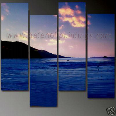Dafen Oil Painting on canvas seascape painting -set692