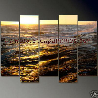Dafen Oil Painting on canvas seascape painting -set698