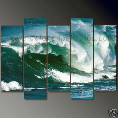 Dafen Oil Painting on canvas seascape painting -set699